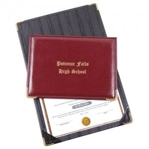 Personalized Certificate Holders - Absolutely Stunning Promotional Item?