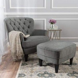 Accent Chairs With Ottoman For a Stylish Look and a Comfortable Feeling