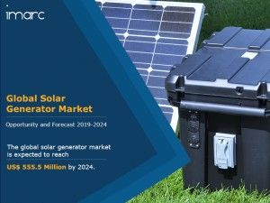 Solar Generator Market Induced by Numerous Solar Power Development Projects