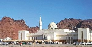 Ghamama is one of the historical mosques in Madinah