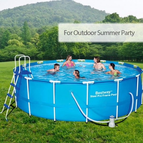 What You Should Know before Buying and Installing an Above-Ground Swimming Pool | Outbaxcamping