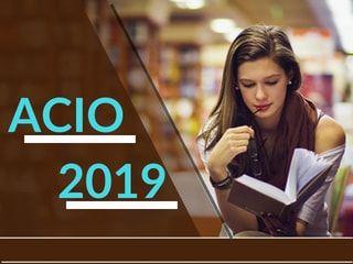 ACIO 2019 - Application Form, Eligibility, Exam Pattern, Dates