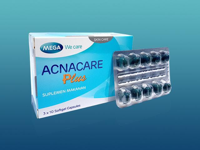 Acnacare Plus Mengatasi Jerawat dan Memperbaiki Tekstur Kulit - Vhiezca Store