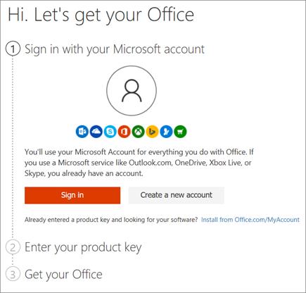 office.com/setup - Enter product key - Download or Setup Office