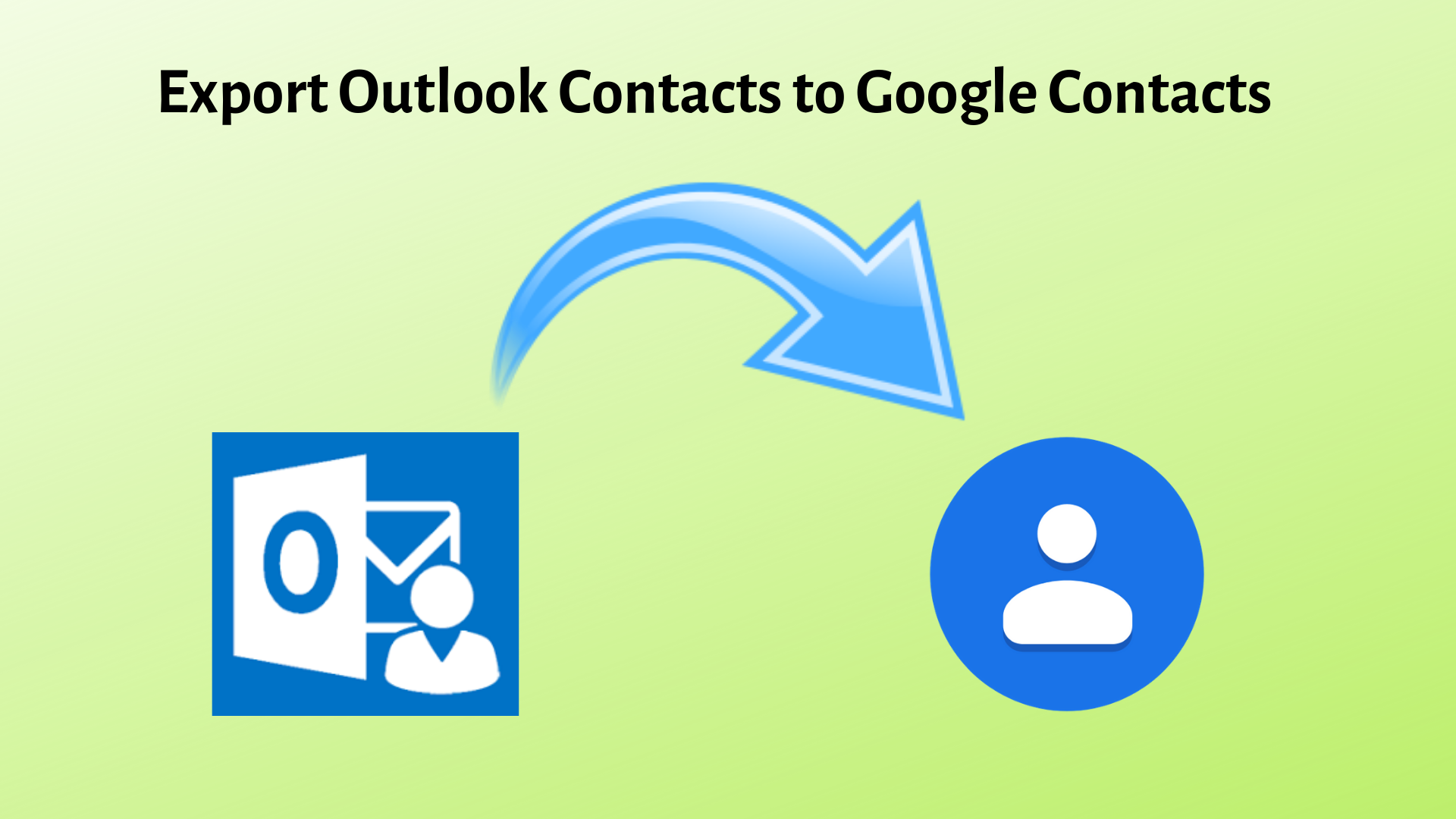 Export Outlook Contacts to Google Contacts - PST Contacts to Gmail Migration