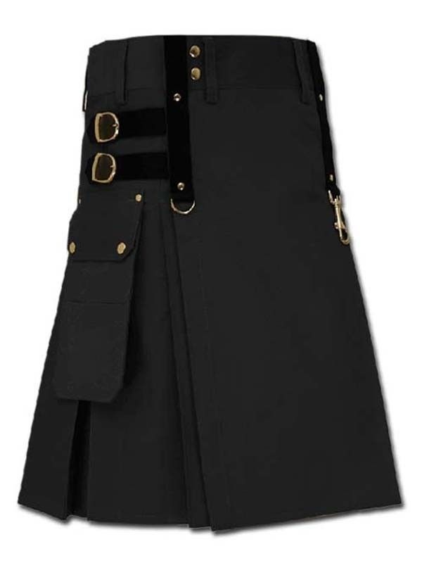 Aesthetic Tactical Kilt For Steampunk - Modern Kilts For Men For Sale