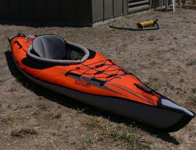 Inflatable Kayaks Advanced Elements Tips