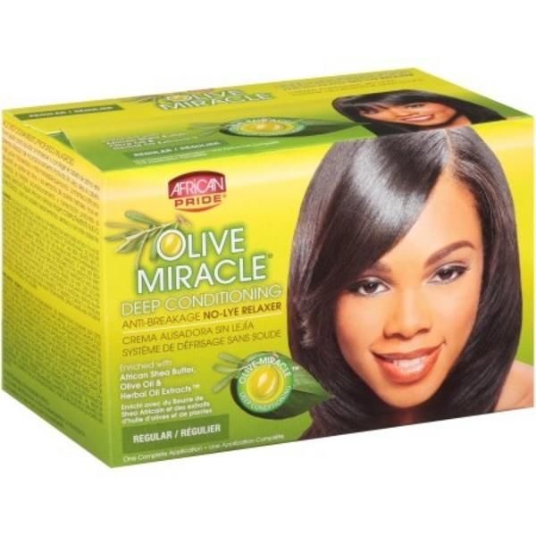 Get Best Deals on African Pride Olive Miracle Relaxer System