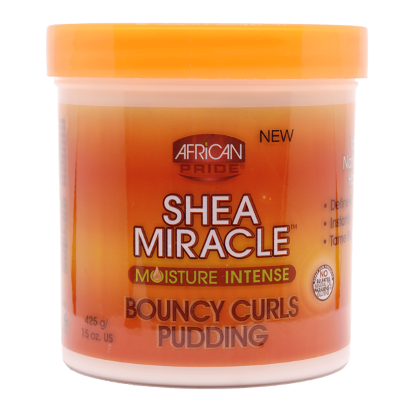 African Pride Shea Butter Bouncy Curls Pudding