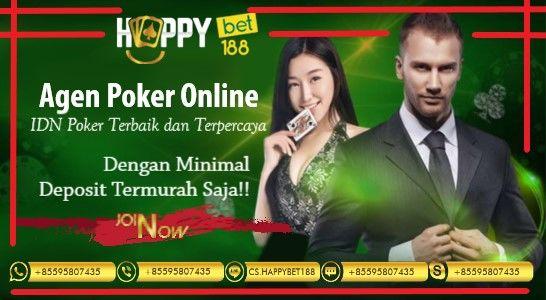 Agen Poker Online Deposit Termurah | Happybet188