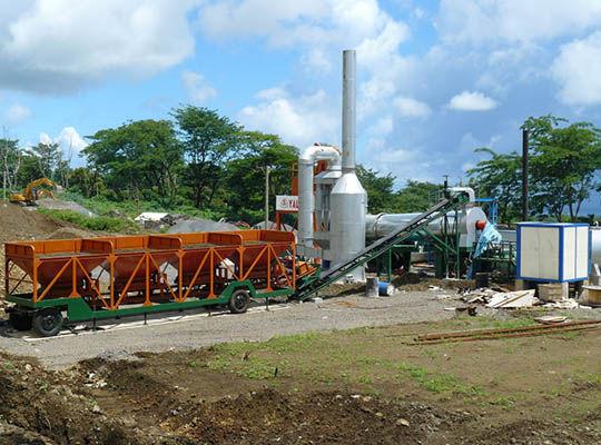 Planta De Asfalto Continua -- AIMIX Grupo Fabricante Profesional