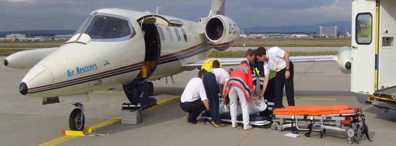 Air Ambulance Services in Ranchi | Airrescuers.com