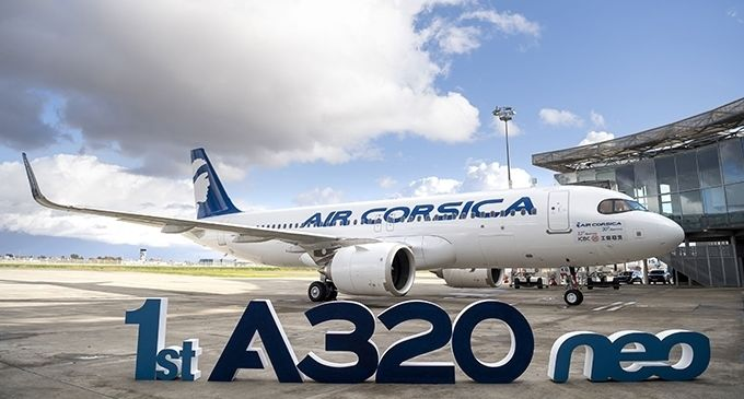 'Air Corsica' – The first French A320neo operator  Airlines