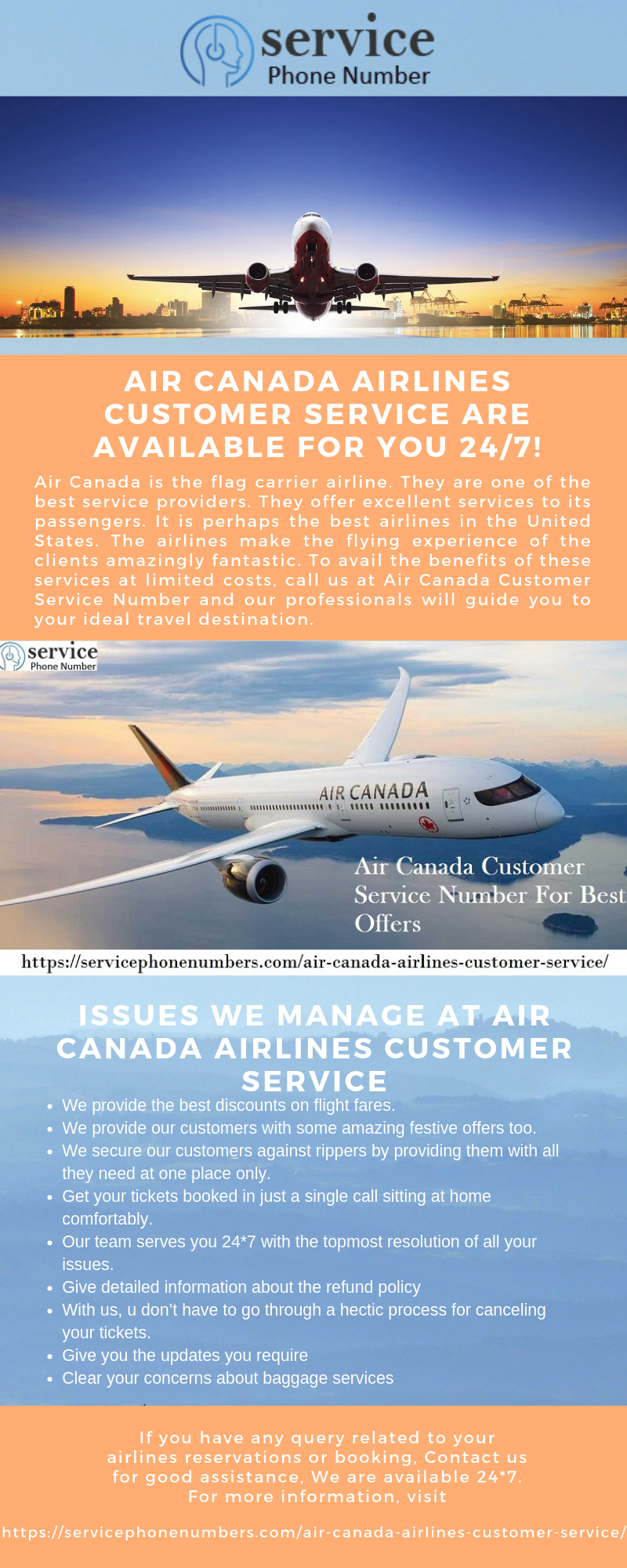 Air Canada Airlines Customer Service Are Available For You 24/7!