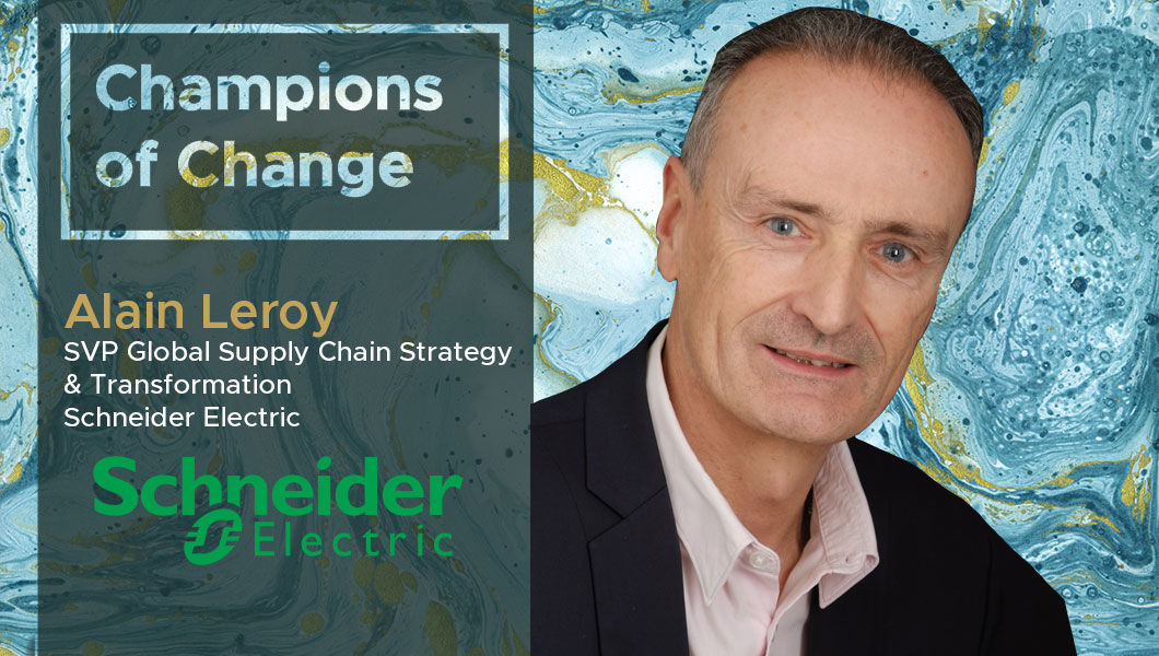 Interview with Alain Leroy, SVP GSC Strategy & Transformation at Schneider Electric | The Digital Enterprise