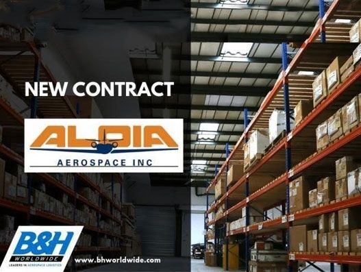 Aloia Aerospace signs with B&H Worldwide for three years | Supply Chain