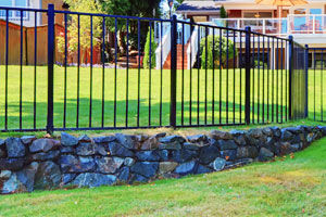 Aluminum Metal Fence Installation in New Haven, Stamford, Fairfield, CT