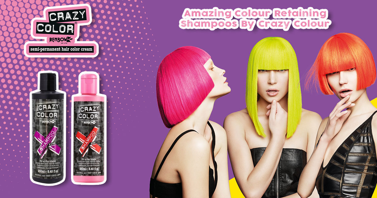 Amazing Colour Retaining Shampoos By Crazy Colour
