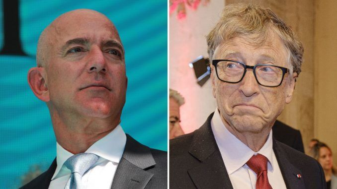 Jeff Bezos Move Over Bill Gates to reclaims the world's richest man title Overnight