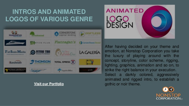 Animated Logo Design Services