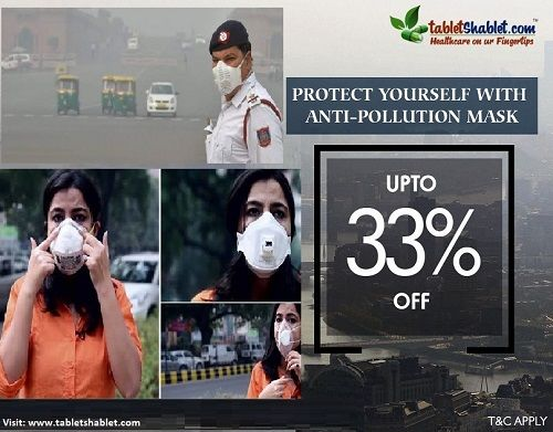 Anti Pollution Mask Washable Reusable