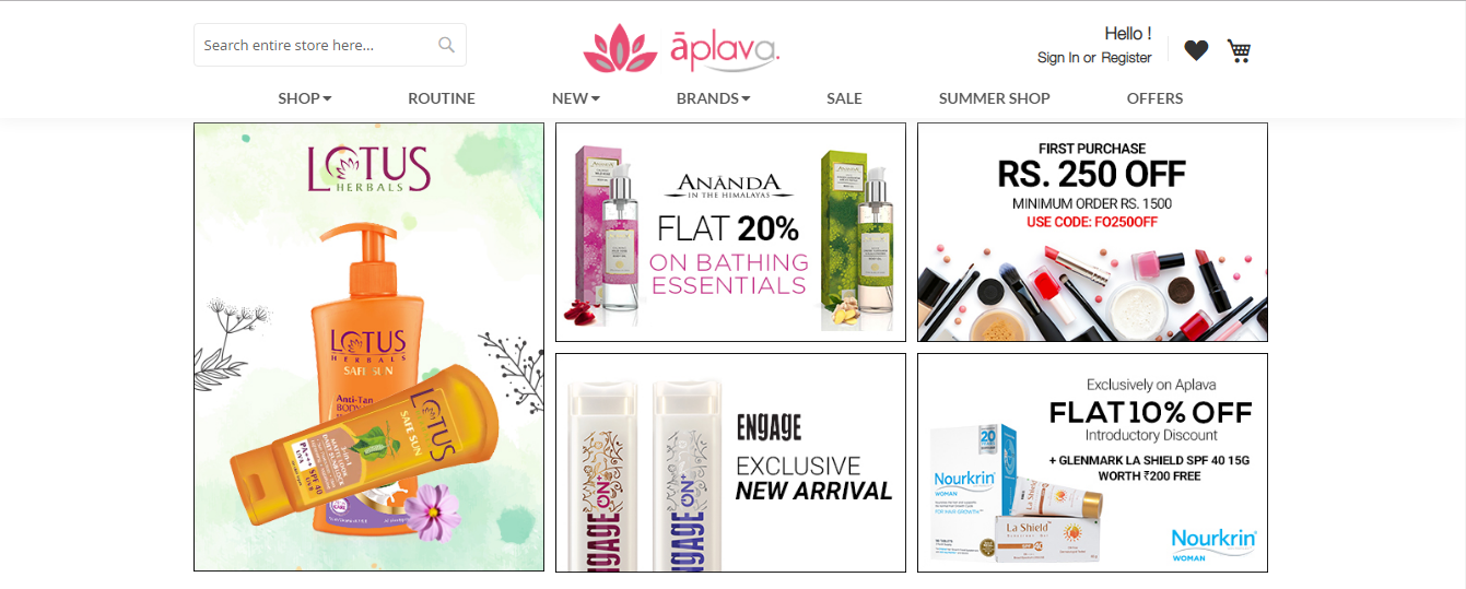 Top 5 Best Online Shopping Sites For Buy Beauty Products In India - Style Of Lady
