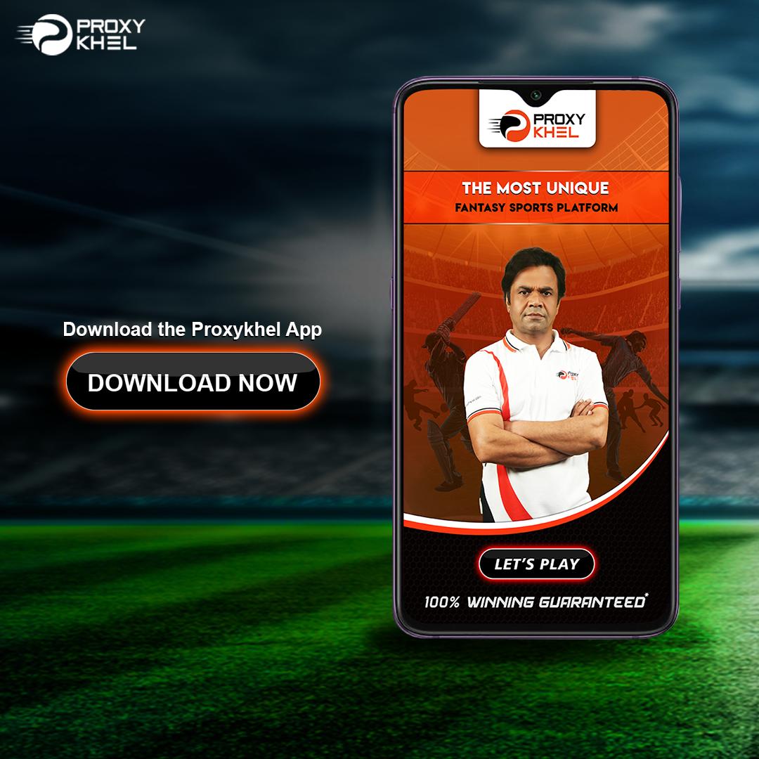 Download your Proxy Khel App. Enjoy rewarding experience on ProxyKhel.