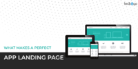 WHAT MAKES A PERFECT APP LANDING PAGE?