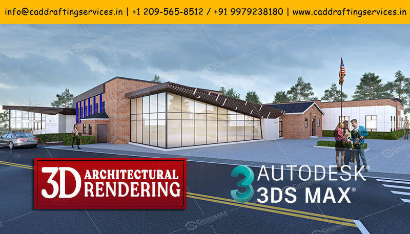 3D Architectural Rendering | 3D Visualization Services - COPL