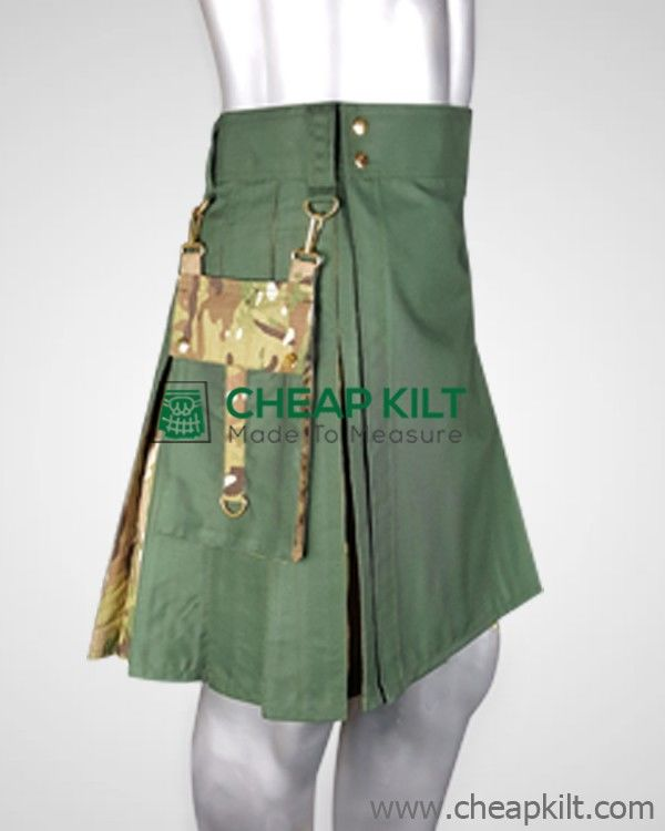 Stylish Men Hybrid Tactical Kilt