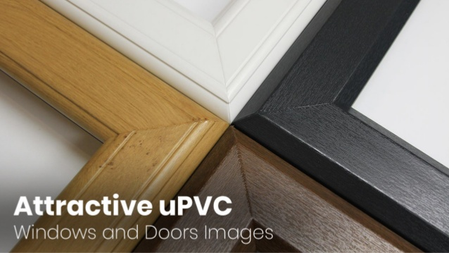 Attractive uPVC Windows and Doors Images