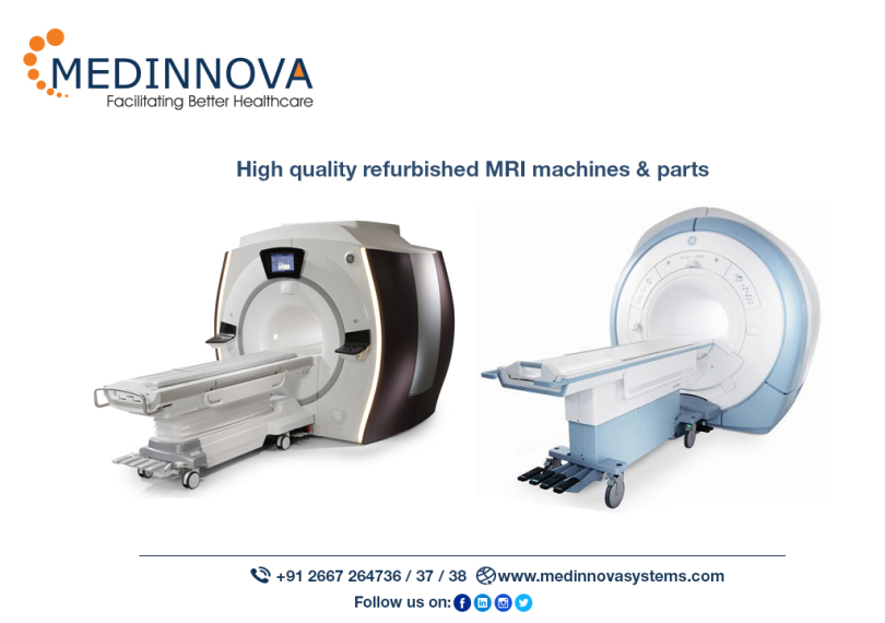 All About the Refurbished MRI Machines and Its Parts! – Medinnova Systems