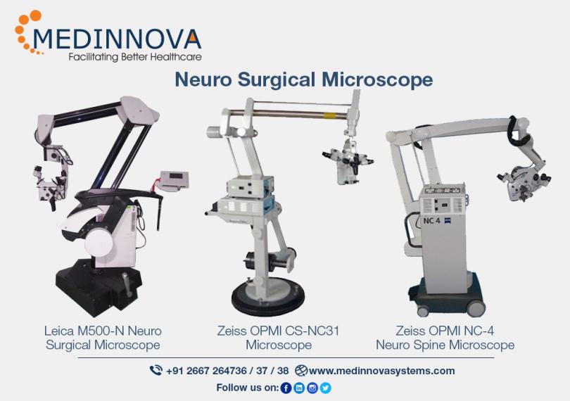 How Does Neurosurgery Microscope Work? – Medinnova Systems