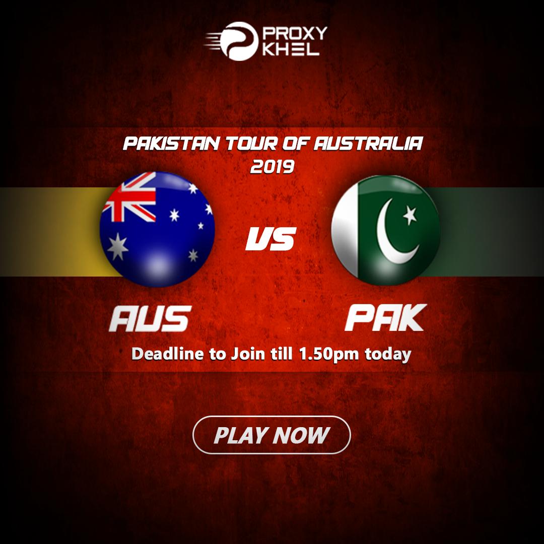 AUS vs PAK Match 03 Twenty20 International| Proxy Khel Predictions.