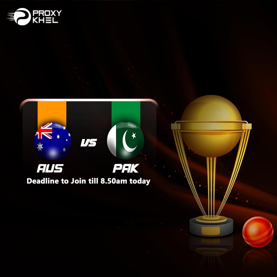 AUS vs PAK Twenty20 International| Proxy Khel Predictions.