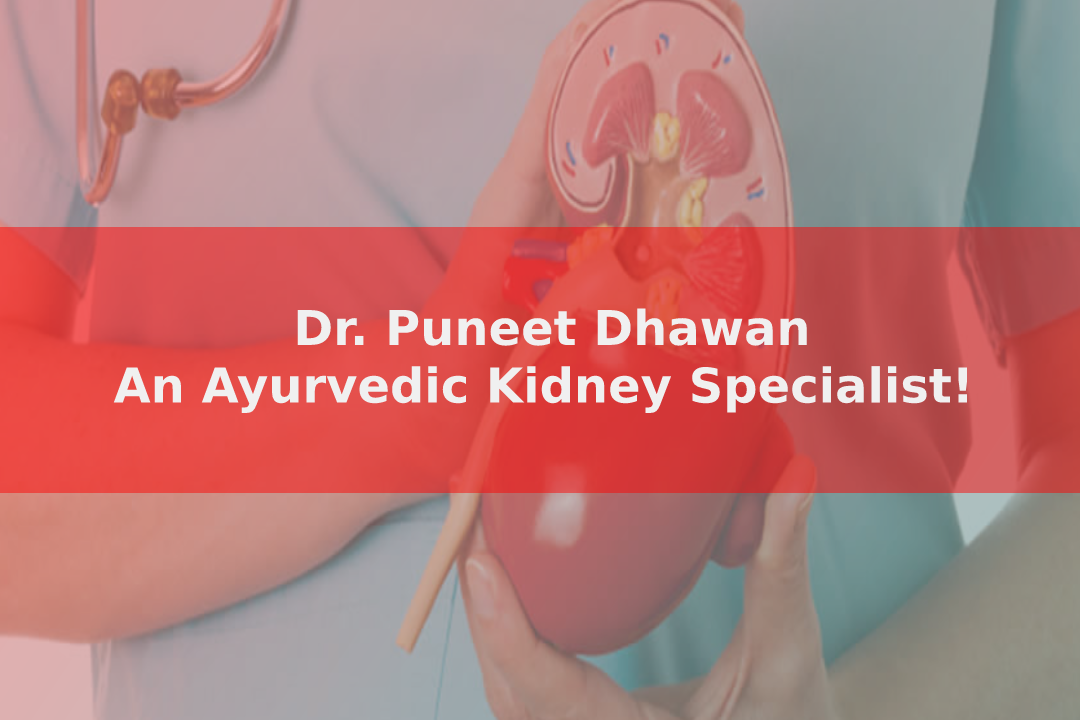 Dr. Puneet Dhawan – An Ayurvedic Kidney Specialist