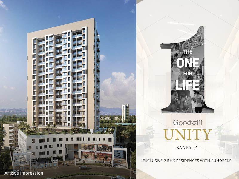 Goodwill Unity, Sanpada - 2 BHK Flats in Sanpada, Navi Mumbai