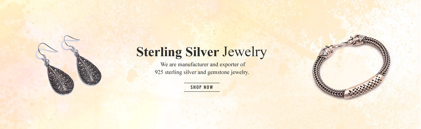 Silver Jewelry Manufacturer | Wholesale Sterling Silver Jewelry