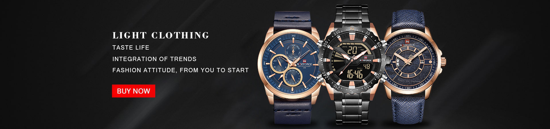 Men's Chronograph Watches - Naviforce
