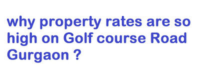 Apmprop: why property rates are so high on Golf course Road Gurgaon ?
