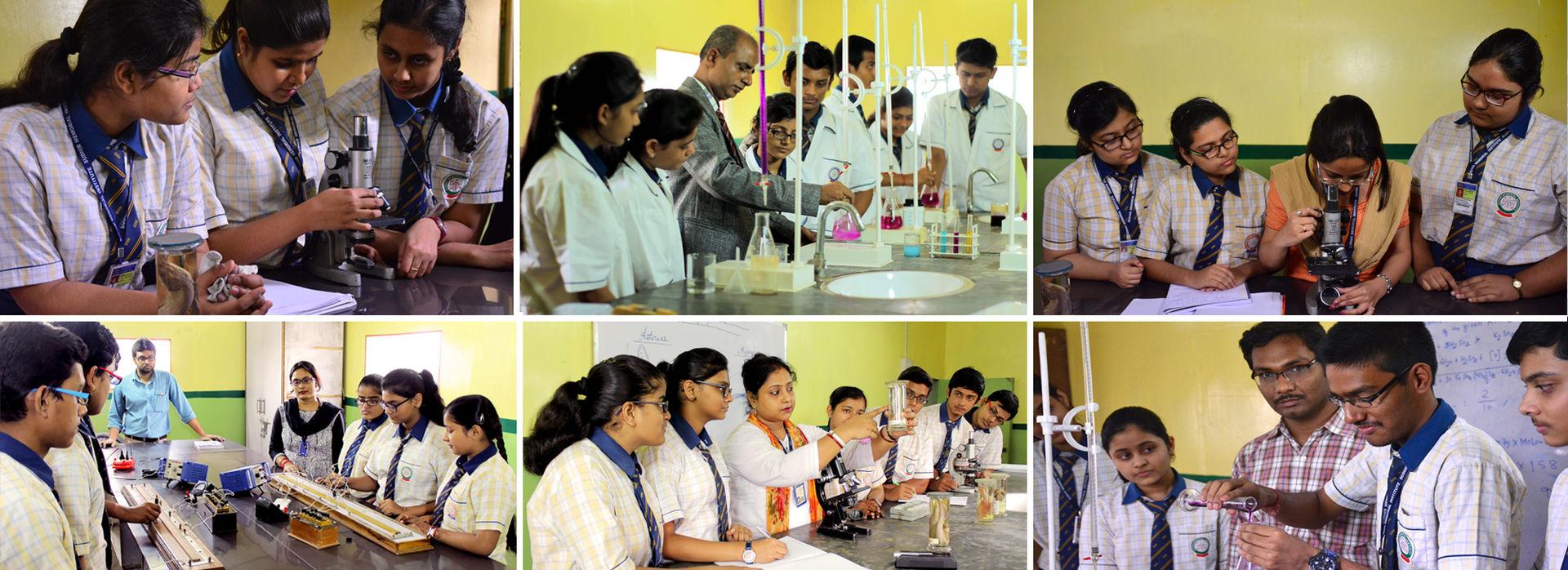 Sudhir Memorial Institute Liluah | CBSE school in Howrah | Laboratory