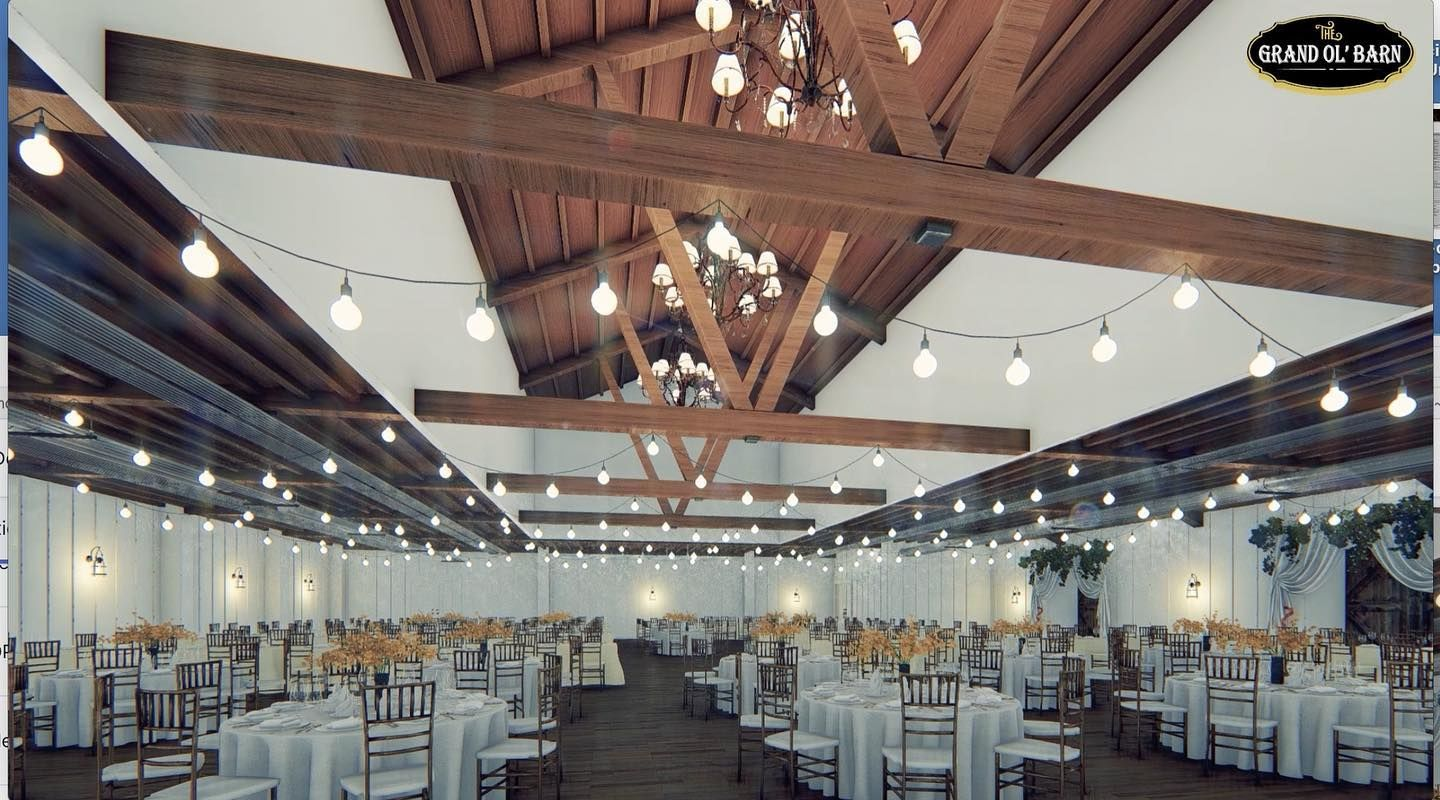 Barn rental for events