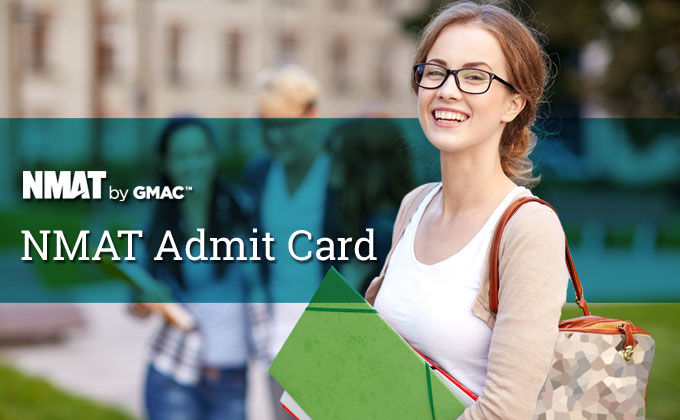 NMAT Admit Card 2019, NMAT by GMAC Download Hall Ticket Here - MBA Rendezvous