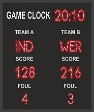 Game Score Display Board