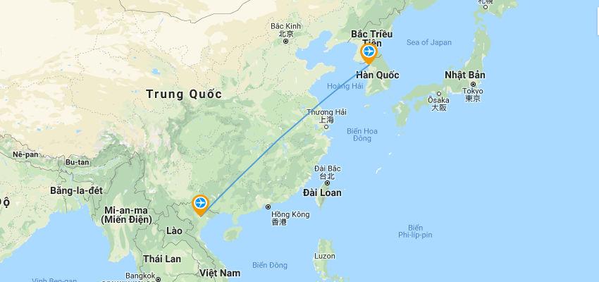 Bay từ Hà Nội đến Seoul mất bao lâu mấy tiếng | Vietnam Like