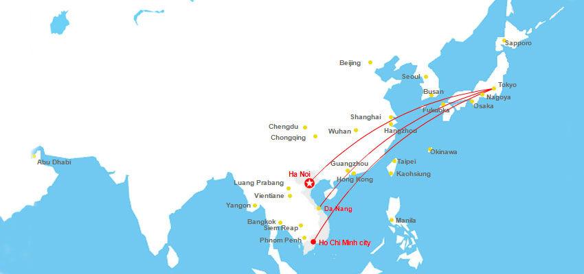Thời gian từ Nhật bay về Việt Nam mất mấy tiếng bao lâu | Vietnam Like