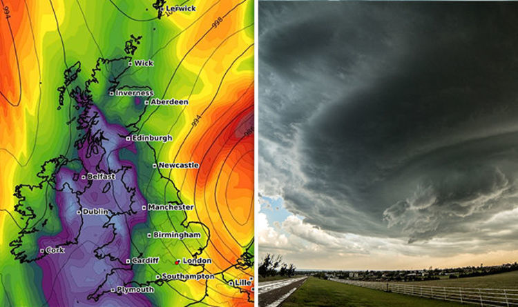 Huge Storm Looms as Temperature to Smash Britain