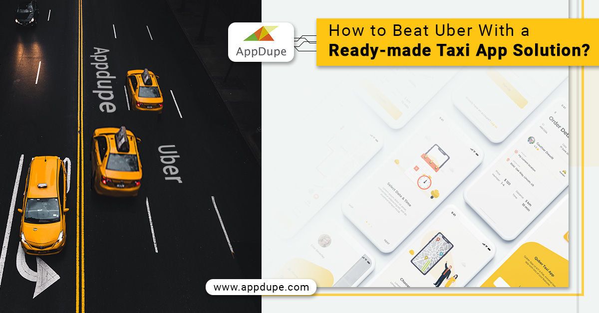 ready-made taxi app solution