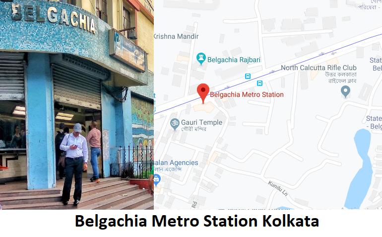 Belgachia Metro Station Kolkata -Routemaps.info