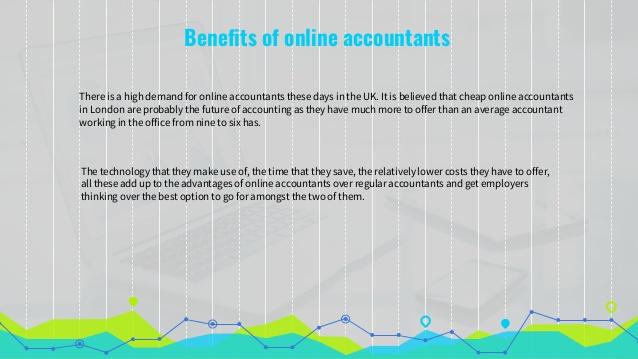 Benefits of Online Accountants